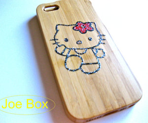 iphone case, cute iphone case, and bamboo case image
