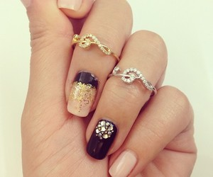 beautiful, girls, and nail art image