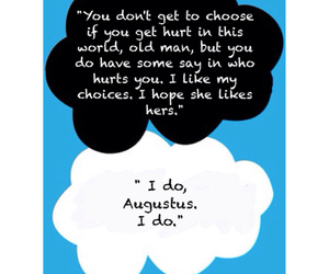 book, the fault in our stars, and love image