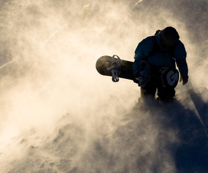 love is in the air, snowboarding, and lets do this image
