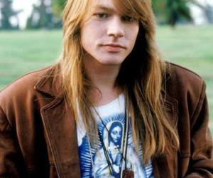 axl rose, long hair, and style image