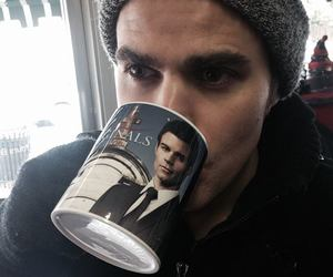 stefan, tvd, and paul w. image