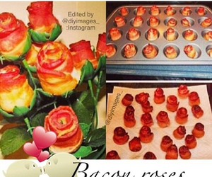 bacon and rose image
