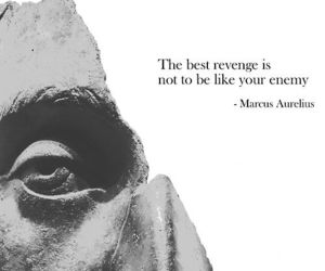 quote, revenge, and enemy image