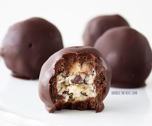 brownies, chocolate, and truffles image