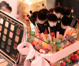 makeup, pretty, and cute image