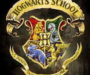 h, harry potter, and hogwards image
