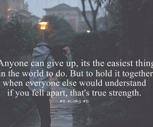 quotes, text, and strength image