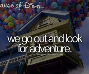 up, disney, and because of disney image