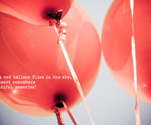 dbsk, tvxq, and red balloons image