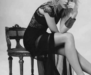 dress, model, and Jessica Stam image