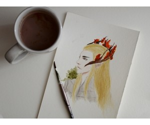 drawing, painting, and pretty image