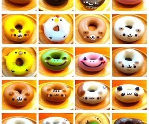 donuts, animal, and food image