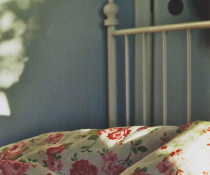 bed, morning, and vintage image