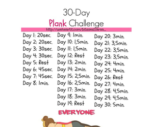 fitness, plank, and workout image