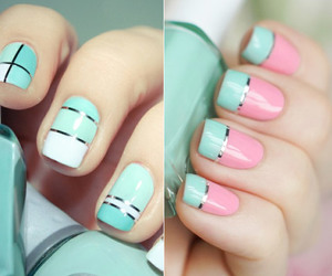 cute and artnails image