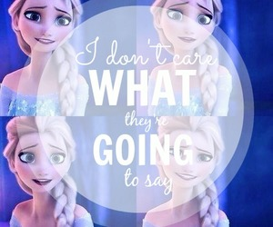 anna, let it go, and frozen image