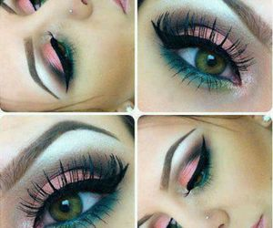beautiful, eyelash, and girl image
