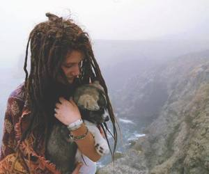 dreads, hippie, and indie image