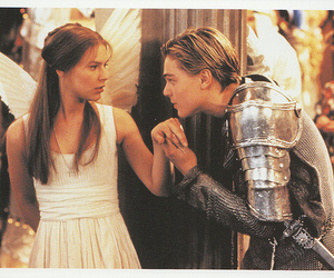 love, romeo and juliet, and leonardo dicaprio image