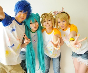 vocaloid, cosplay, and kaito image