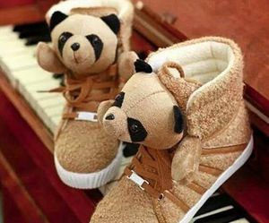 cute, shoes, and panda image