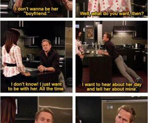 boyfriend and girlfriend, himym, and quotes image