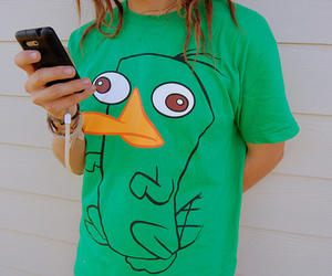 perry, green, and shirt image