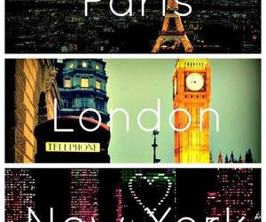 paris, london, and new york image