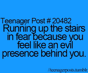 evil, teenager posts, and fear image