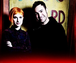 hayley williams, pete wentz, and paramore image