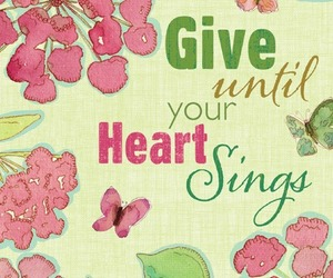 heart, quote, and sing image