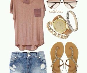 denim, fashion, and girly image