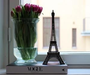 flowers, vogue, and paris image