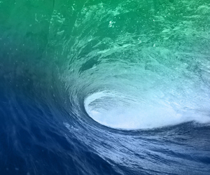 blue, photography, and surfing image