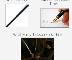 pen and percy jackson image