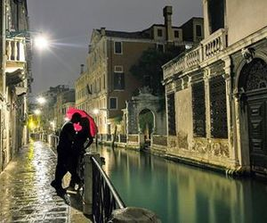 italy, venice, and love image