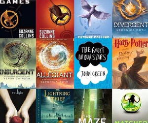 mockingjay, divergent, and books image