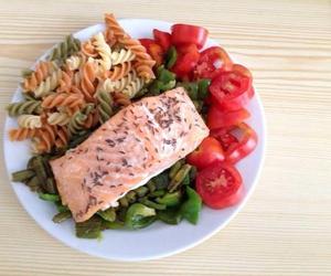 fish, healthy, and food image