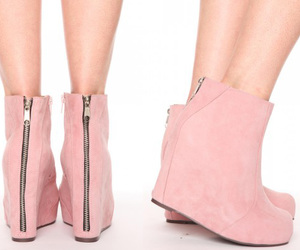 nasty gal, shoes, and pink platforms image