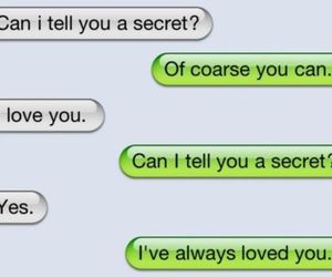 love, secret, and text image