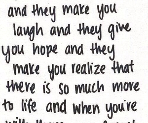 quotes, life, and friends image