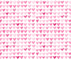 pink, hearts, and love image