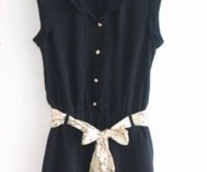 dress, elegant, and fashion image