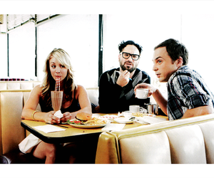 the big bang theory, jim parsons, and kaley cuoco image