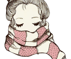 girl, pink, and png image