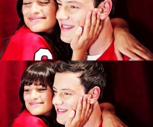 glee, love, and lea michele image
