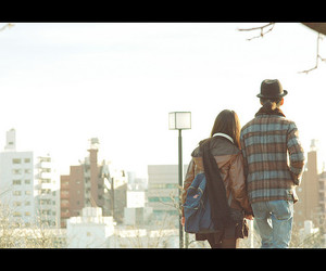 couple, japan, and romantic image