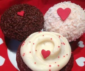 food, sweet, and valentine image