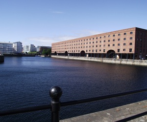 dock, docklands, and Liverpool image